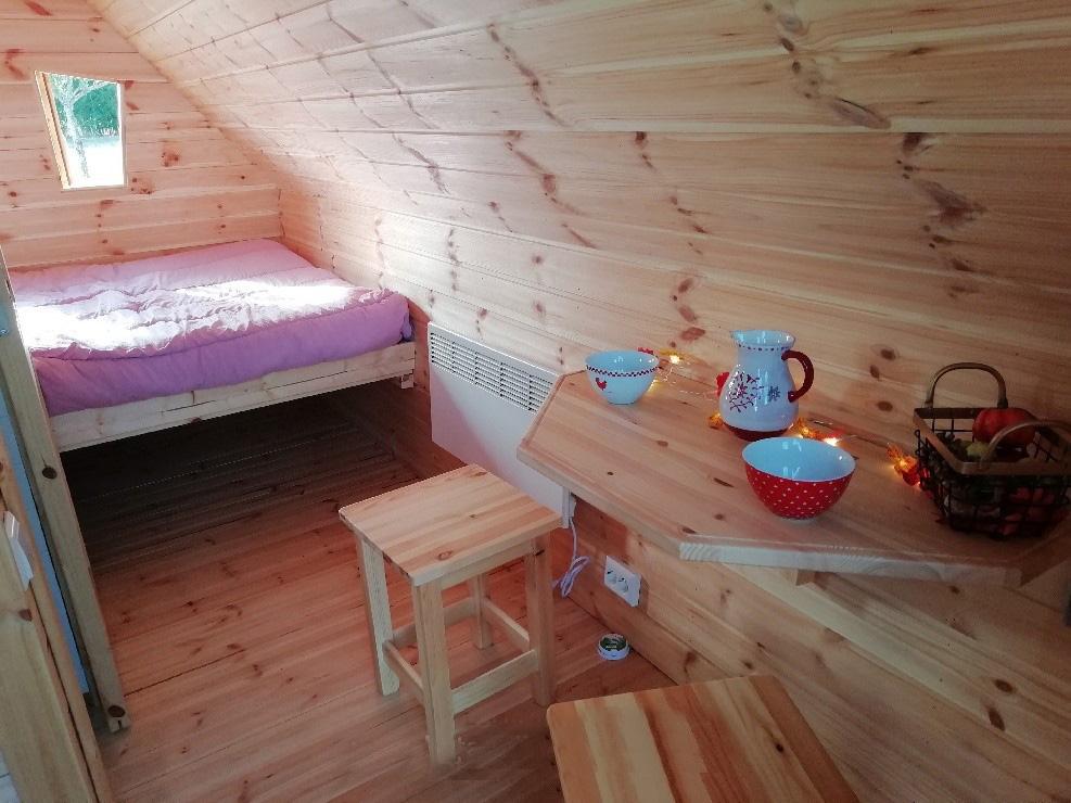 Une nuit pour 2 dans l'une de nos cabanes magiques